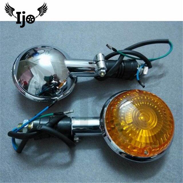 moto flashing for kawasaki honda suzuki yamaha universal Cornering lamp amber blinker flashers motorcycle turn signal light