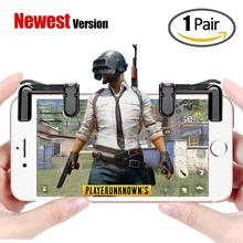 Mobile Game Controller(Newest Version) Sensitive Shoot and Aim Buttons L1R1 for PUBG/Knives Out/Rules of Survival Game Joystic(China)