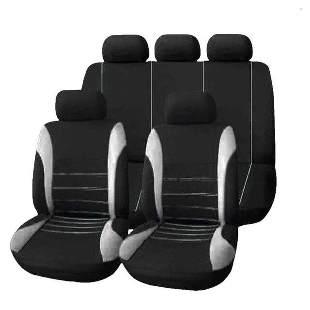 9 pcs Universal Assento de Carro Cobre Auto Proteger Cobre Tampas de Assento Automotivo para toyota lada priora kalina granta renault logan