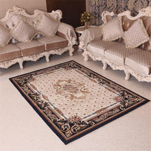 Advanced Luxury Delicacy European Vintage Retro Style Non Slip Mat Rug  Cushion Carpet For Bathroom