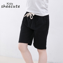 SheeCute New Arrival Summer Girls Shorts Kids Candy Color shorts Boys Casual Cotton Beach Shorts 10Color For 3 11Y SC1104-in Shorts from Mother & Kids on AliExpress