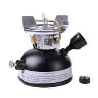 Outdoor Portable Kerosene Stove Burners For Camping Mini liquid Fuel Maximum 500ML Gasoline Stoves with the use video