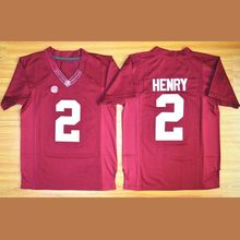 Men s Alabama Crimson Tide Derrick Henry 2 College Football Jerseys - White  Red Black Stitched Size S-3XL Free Shipping 375516c7e
