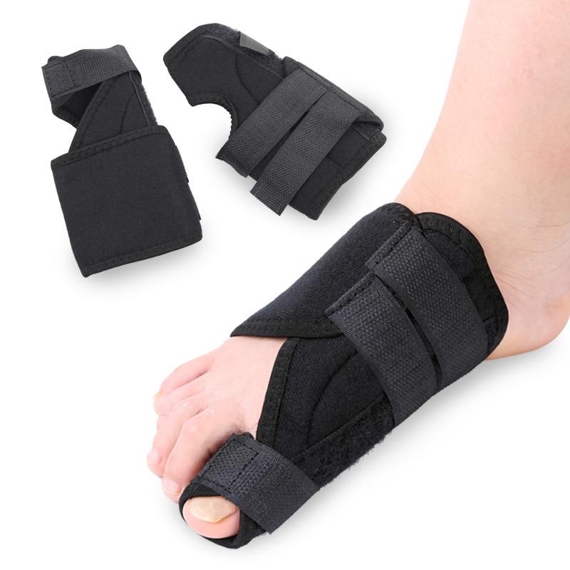 Toe Hálux Valgo Correção Cinto Pacote Dispositivo de Ajuste Confortável Com a Parte Dianteira Do Pé Valgo Correção
