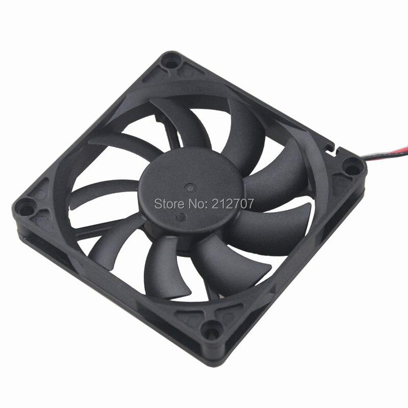 20 шт. Gdstime 8015 80 мм 8 см 80x80x15 мм 24 В 2Pin воздушный поток DC вентилятор охлаждения