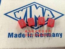 2019 hot sale 10pcs/20pcs Germany WIMA 100V 0.33UF 100V 334 film capacitor P: 5mm Audio capacitor free shipping