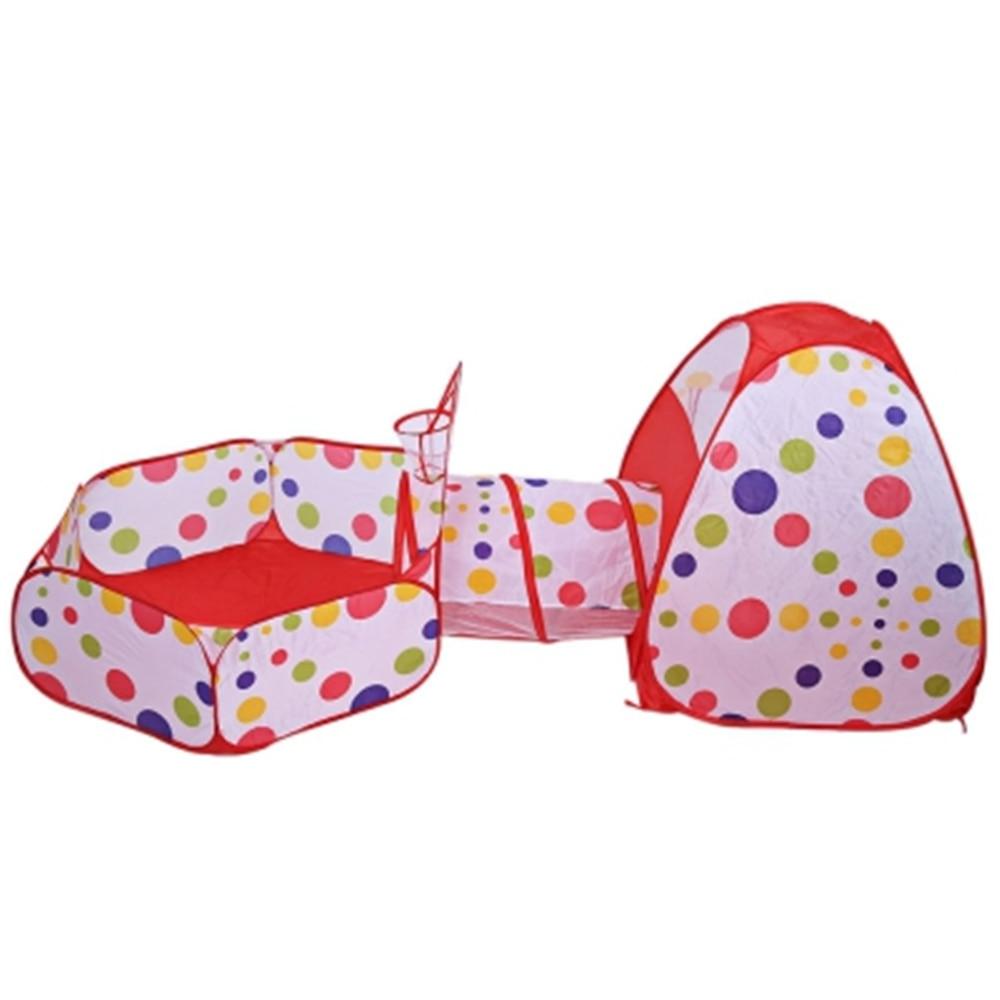 Multicolore bébé ramper tente enfants pliable jouets enfants en plein air maison jeu jouer gonflable Pipeline Tunnel tente cour balle piscine