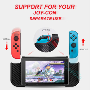 Image 4 - Nintend Switch Accessories Handle Grip Case Nintendoswitch Screen Protector Glass Film Nitendo Switch Silicone Cover for NS Bag