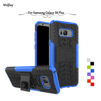 Wolfsay For Case Samsung Galaxy S8 Plus cover Tough Impact Phone Case For Samsung Galaxy S8 Plus Cover For Samsung S8 Plus G955