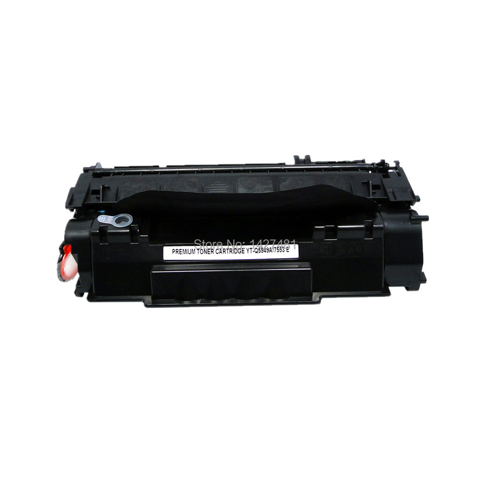 YOTAT Black Refillable toner cartridge for <font><b>HP</b></font> <font><b>49A</b></font> Q5949A LaserJet 1320 Printer Series 3390 3392 Series for Canon LBP-3300 image