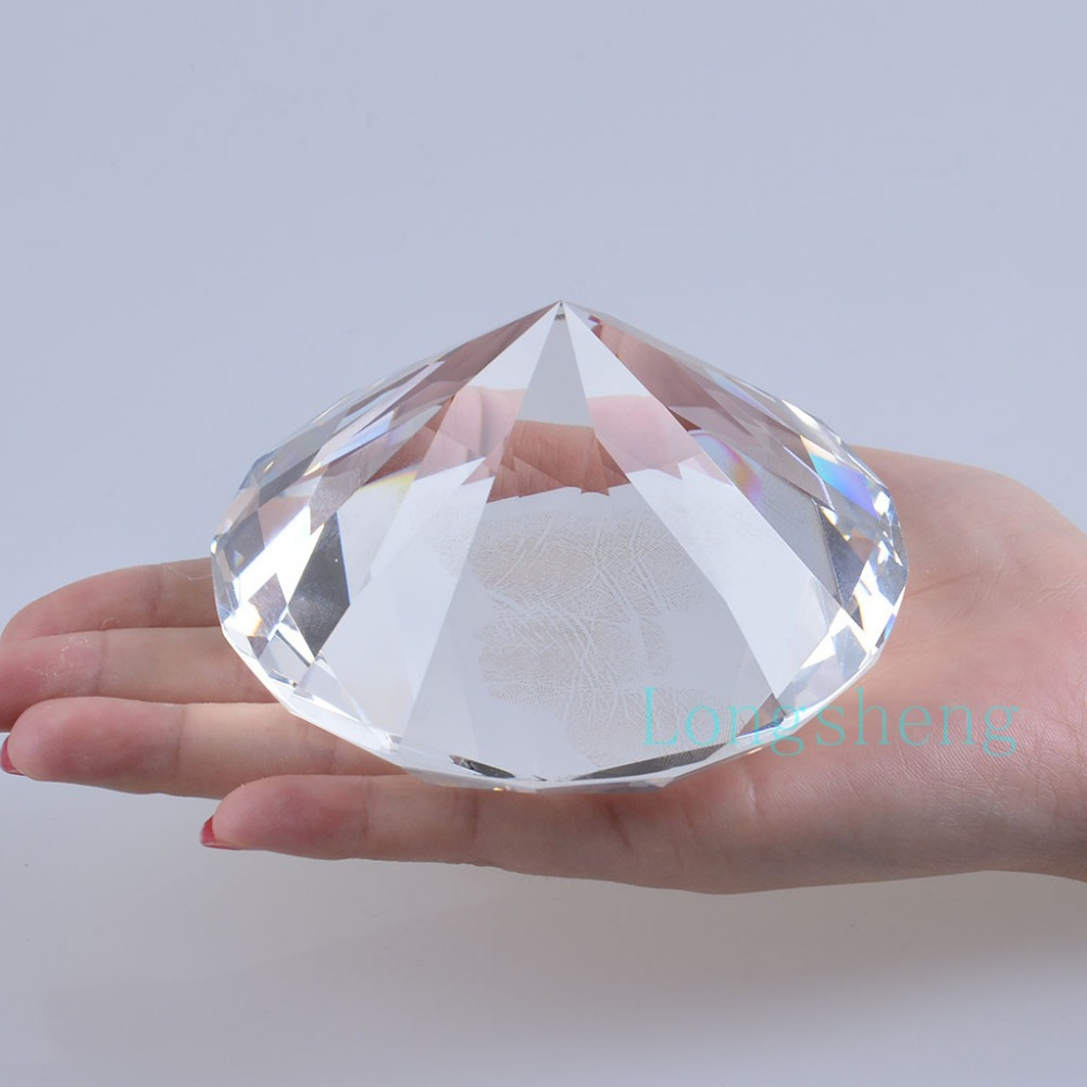 clear crystal cut com home giant amazon faceted mm glass diamond dp kitchen