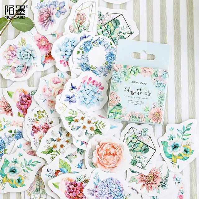 Милая наклейка с кошкой милый дневник ручной работы клейкая бумага хлопья Япония винтажная коробка мини-наклейка Скрапбукинг пуля журнал канцелярские товары - Цвет: 8