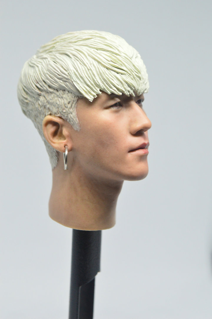 "1//6 Scale BIGBANG T.O.P Head Sculpt for 12/"" Action Figure"