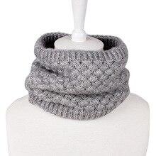 2018 Fashion Winter Scarf For Women Men Children Baby Thickened Wool Collar Scarves Boys Girls Neck Cotton Unisex
