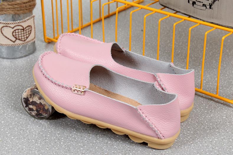 AH912 (16) women's loafers shoe