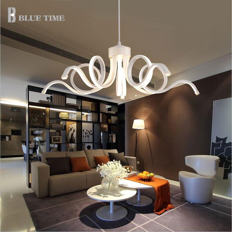 HOT Sale Modern Led Pendant Light Bedroom Lamp AC90 265V Suspension For Dinning Room Living Lights