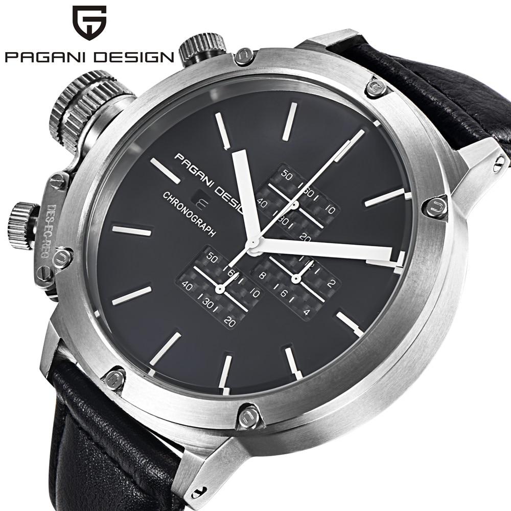где купить Pagani Design Watches Men Luxury Brand Multifunction Quartz Watch Men Sport Wristwatch Dive 30m Military Watch Relogio Masculino по лучшей цене