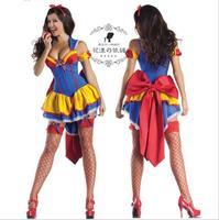 Details über Heiße Neue SnowWhite Prinzessin Dessous Partei Kostüm Halloween Cosplay Kleid