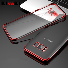 Plating Soft TPU Cases For Samsung Galaxy S9 S8 A6 A8 J4 J6 Plus 2018 S6 S7 Edge A5 A7 2016 J3 J5 Pro J7 2017 Clear Cover Case