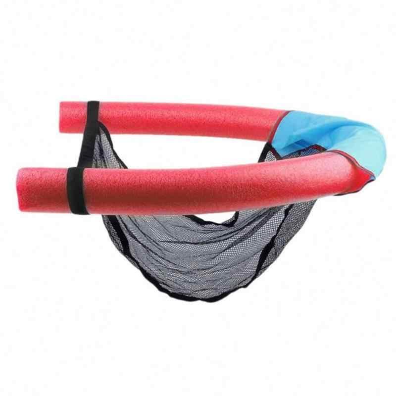 Hamaca de agua flotante inflable para tumbona flotador plegable en piscina PISCINA