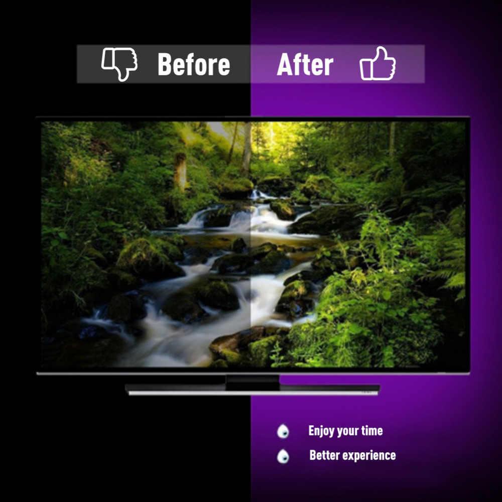 DC5V USB LED Strip 5050 RGB 50CM 1M 2M 3M Flexible Light Mini 3Key 17Key RF IR Remote TV Background Lighting Ribbon Tape IP65