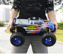 KINGTOY remote control car electric trolley 4wd electric bigfoot the streetcars 4×4 remote tram drift car