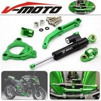 For Kawasaki Z800 E Version 2013 2016 Motorcycle Accessories Steering Stabilize Damper Bracket Mount Motorbike Damper