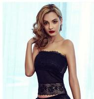Lace Wrapped Chest Women S Summer Sexy Strapless Camisole Fashion Camisoles Tanks Black White Bra