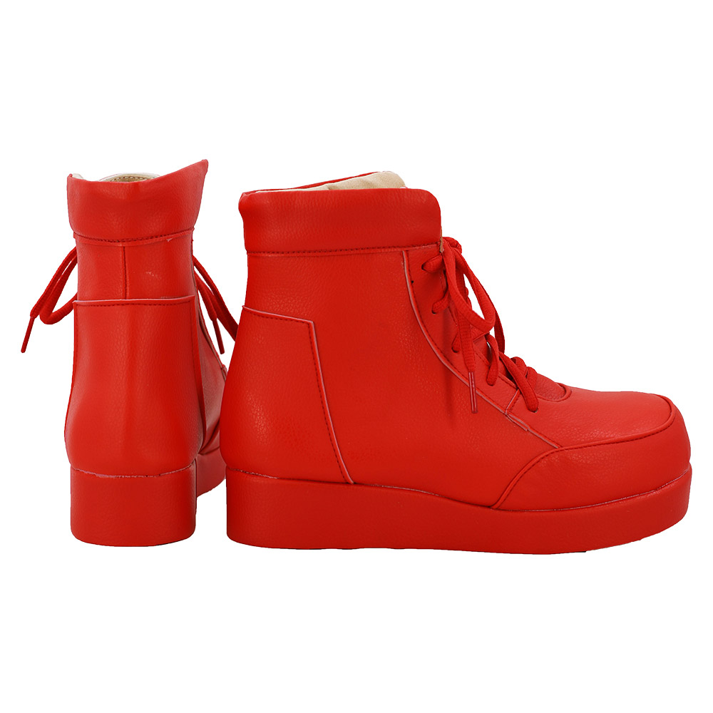Cells at Work Cosplay Wig Erythrocite Red Blood Cell Cosplay Boots Shoes Red for Women Carnival Cosplay|Shoes| - AliExpress