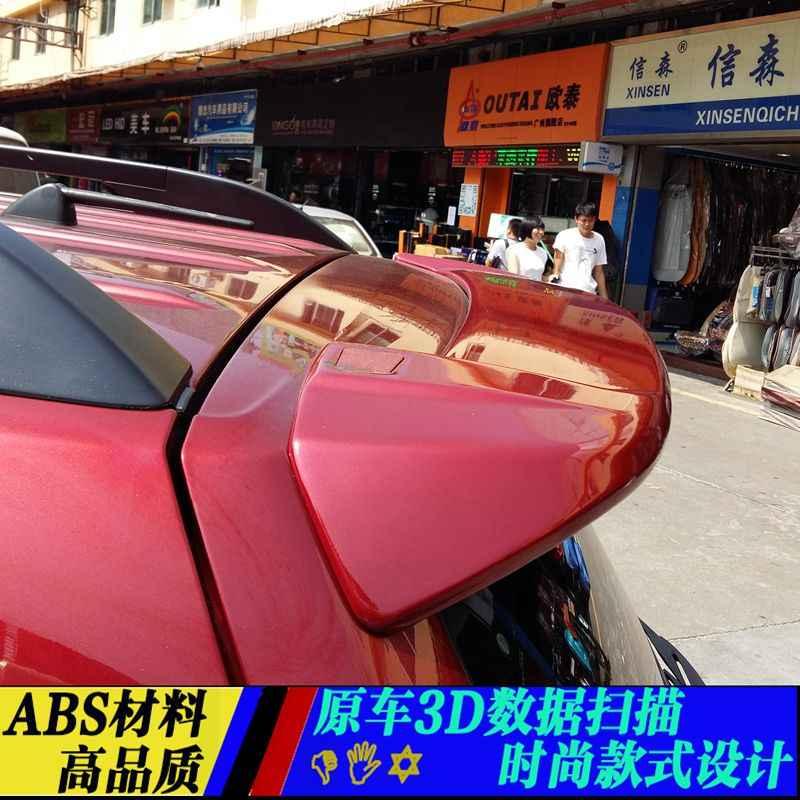 עבור סובארו פורסטר 2008 2009 2010 2011 2012 רכב סטיילינג ABS פלסטיק לא צבוע פריימר צבע אחורי אתחול Trunk אגף ספוילר 1Pcs
