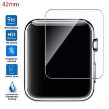 цены на Premium Tempered Glass HD Full Screen Protector Guard Film For Apple Watch 1 2 3 Series 38mm / 42mm  в интернет-магазинах