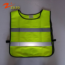 Safety Brand Zojo Safety Clothing 2colors Unisex Outdoor Cycling Workplace Supplies Size 60*40cm Reflective Vest V135