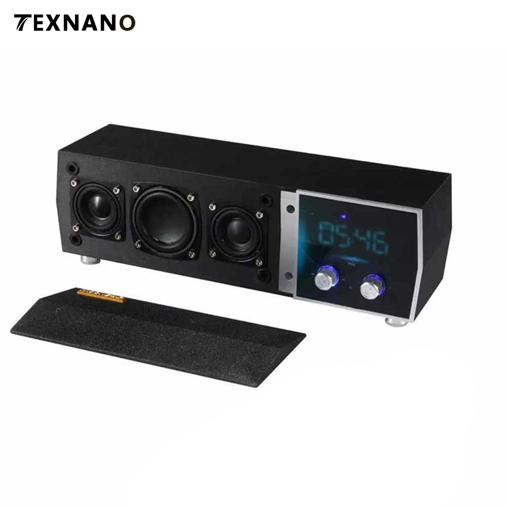 Wooden Bluetooth Speaker With FM Radio TF Card Slot Mic Wireless Stereo Subwoofer Portable For Bluedio Xiaomi for Samsung Mp3 цена 2017