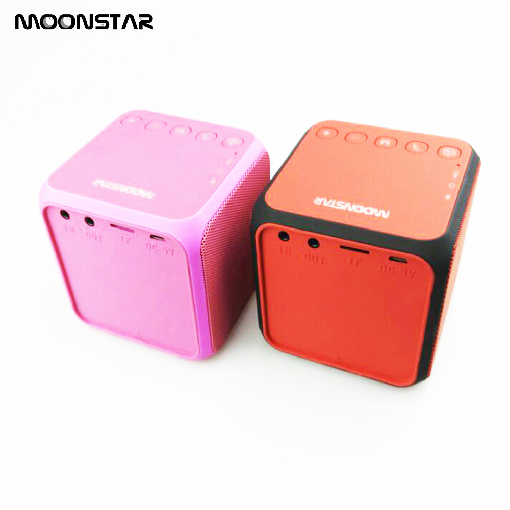 Portable Wireless Bluetooth Speaker Mini Bluetooth Speaker USB Portable Speaker With Battery Stand by TF Card AUX-In
