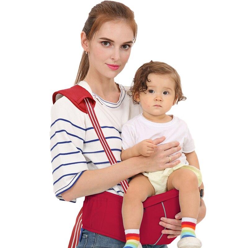 Baby Carrier Waist Stool Walkers Baby Sling Hold Waist Belt Backpack Kangaroo Belt Ergonomic Infant Hip Seat Breathable Hipseat