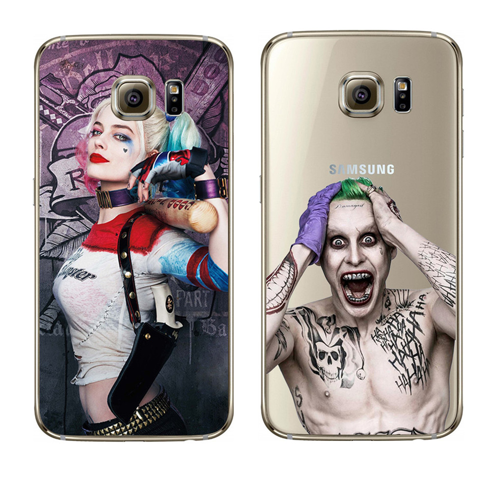 dc comics suicide squad clear silicone coque for samsung galaxy j5 a3 a5 2016 s3 s4 s5 s6 s7. Black Bedroom Furniture Sets. Home Design Ideas