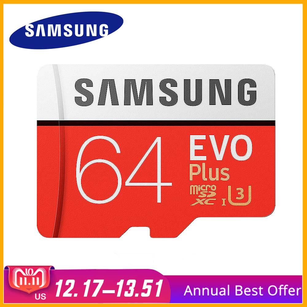 Original SAMSUNG Micro SD Card Memory Card 64GB Class10 TF Card C10 SDXC UHS-I For Samsung galaxy S3 J1J3 Pro J5 S4 Mobile Phone наушники samsung galaxy s5 s4 s3 3 2 s4 ace ej 10