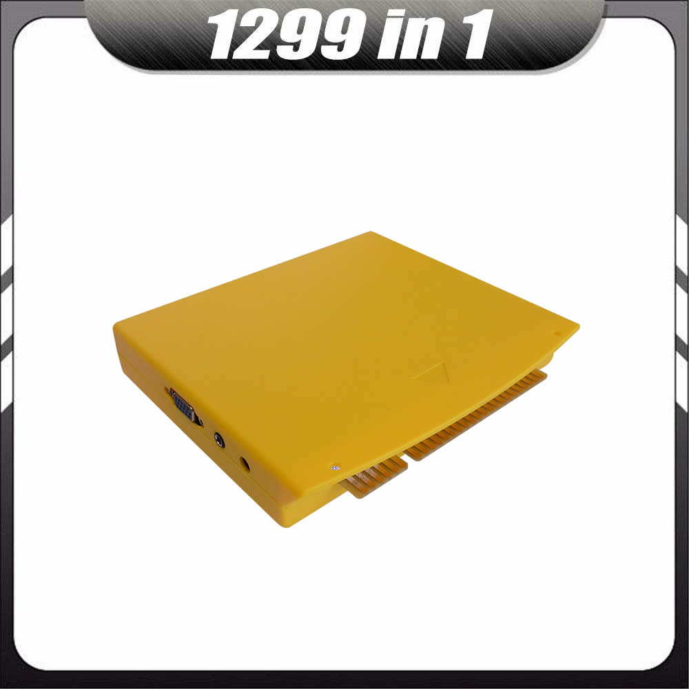 10 шт шкатулка с несколькими играми 5S 999 в 1/1299 в 1 MAME Jamma CGA VGA Pandora DIY Набор аркадных игр машина видео платы комплект картриджей