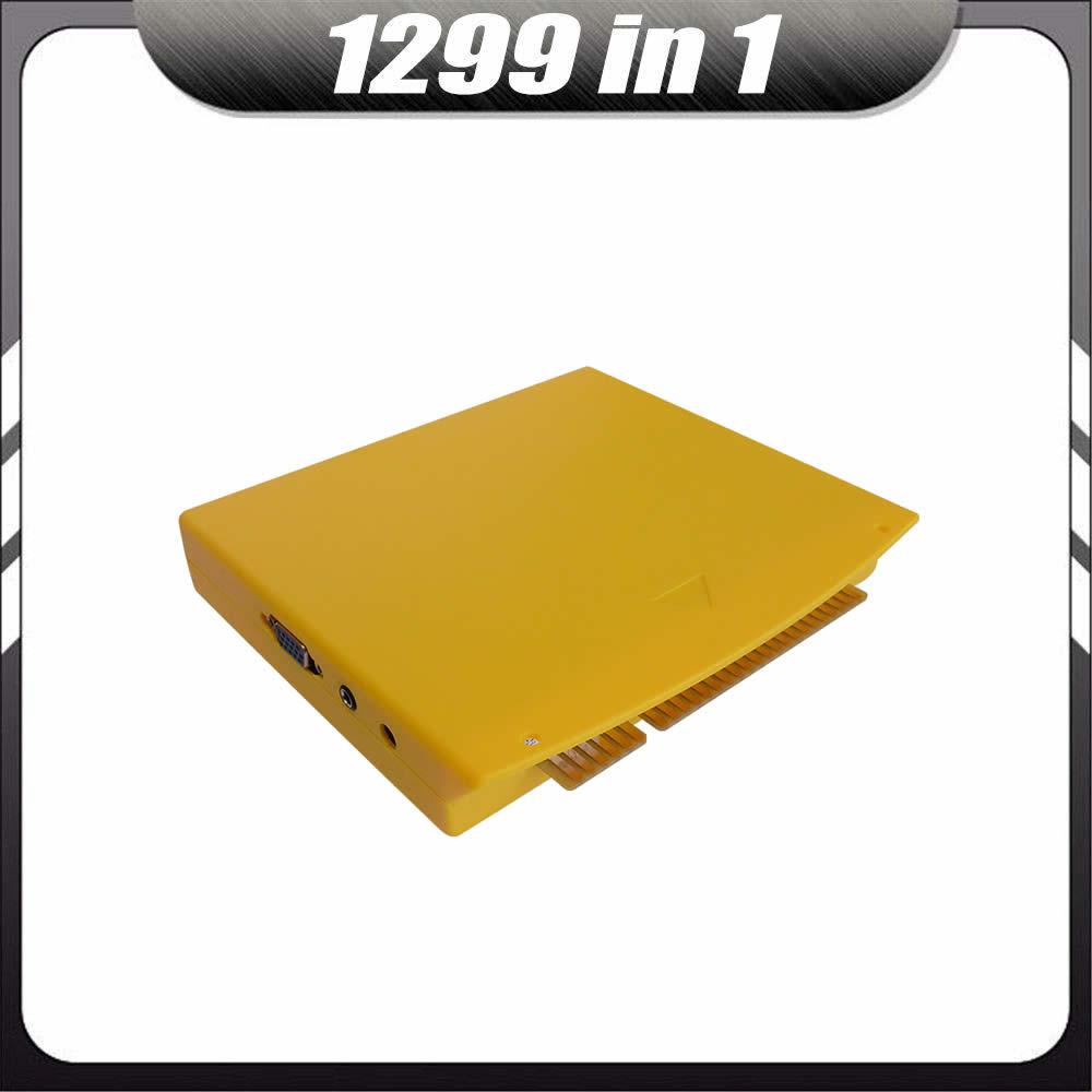 10 pcs Multi Boîte De Jeu 5S 999 dans 1/1299 Dans 1 MAME Jamma CGA VGA Pandora DIY Arcade cabinet Machine Vidéo Conseil PCB Cartouche Kit