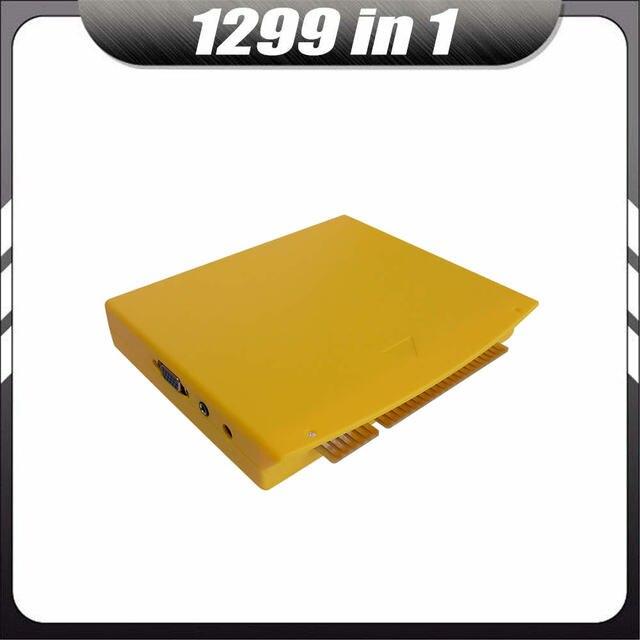 10pcs Multi Game Box 5s 999 in 1/ 1299 In 1 MAME Jamma CGA VGA Pandora DIY Arcade Cabinet Machine Video Board PCB Cartridge Kit
