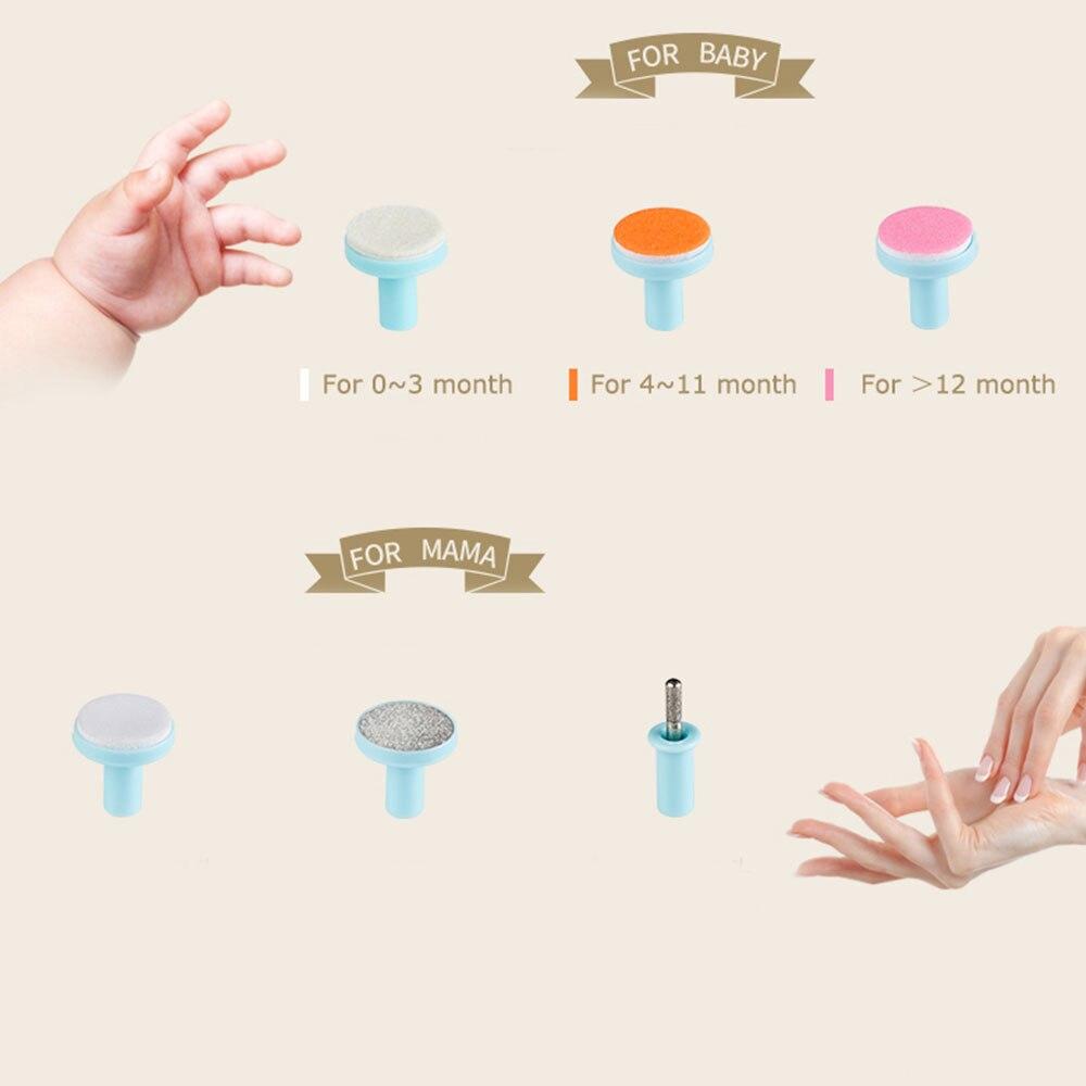 Пилка для ногтей для младенцев Электрический триммер для ногтей детские электрические ножницы для ногтей пластик новорожденный Маникюр здоровье тихий Уход за ногтями уход за ребенком
