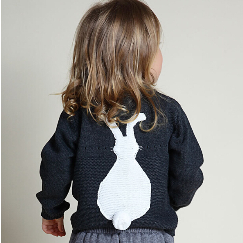 New-2017-Spring-Autumn-Bobo-Style-Girl-Boys-Sweater-Baby-Girls-Boy-sweater-Kids-Boutique-Knitted-Wool-Cartoon-Rabbit-sweater-4