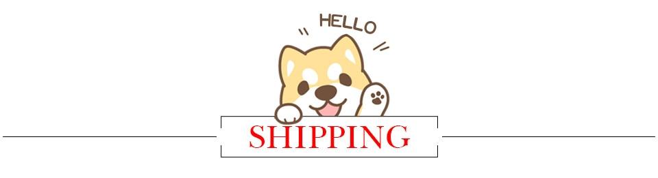 3. shipping