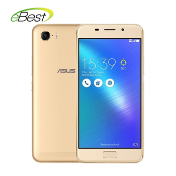 ASUS Zenfone 3s max Smartphone 5.2 Inch 3G Ram MT6750 Octa Core Android 7.0 Front Touch ID 5000mAh 4G LTE Mobile Phone