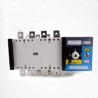 630A 220V 230V 380V 440V 4 Pole 3 Phase Automatic Transfer Switch Ats