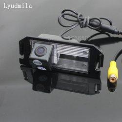 Ludmiła dla Hyundai i10 i20 i30 Elantra GT Touring 2007 ~ 2017 kamera tylna/HD CCD noktowizor tylna kamera cofania w Kamery pojazdowe od Samochody i motocykle na