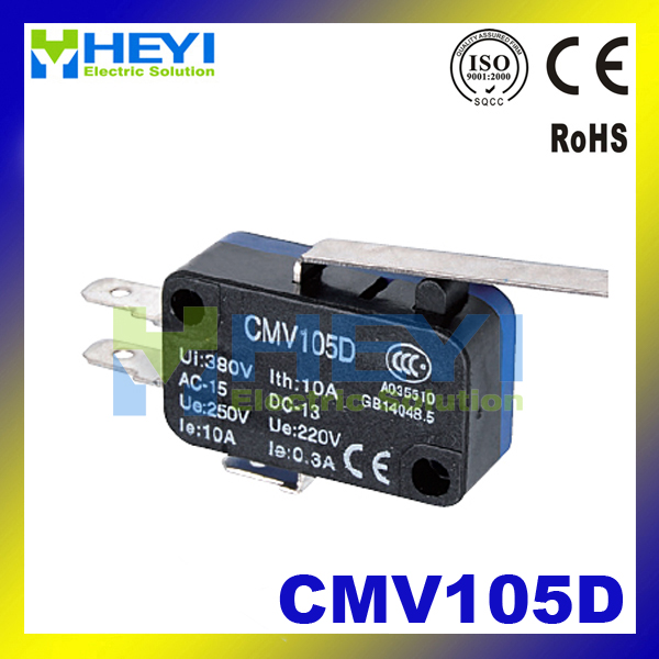 CMV105D Long handle small limit switch Momentary micro Switch