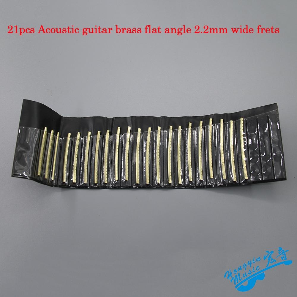 21pcs Fingerboard Frets Fret Wire For Acoustic Guitar Brass ...