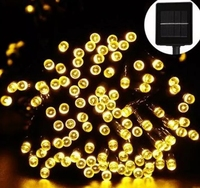 12M 100LEDs Hot Sale Outdoor solar led string Holiday String fairy light Garden Decoration Solar Lamp