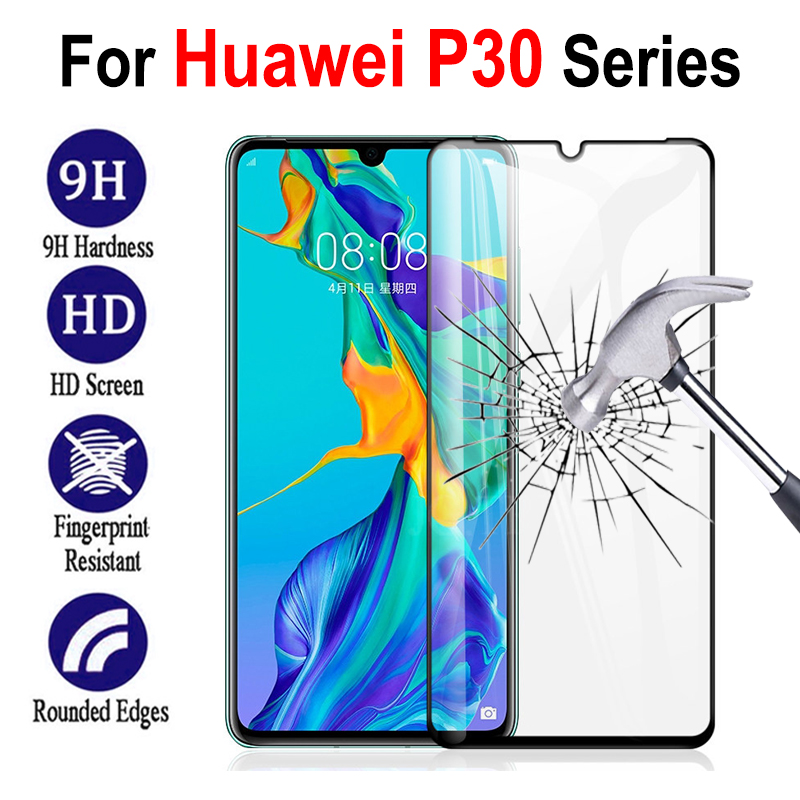 Glass For Huawei P30 Pro Lite P 30 Protective Tempered On